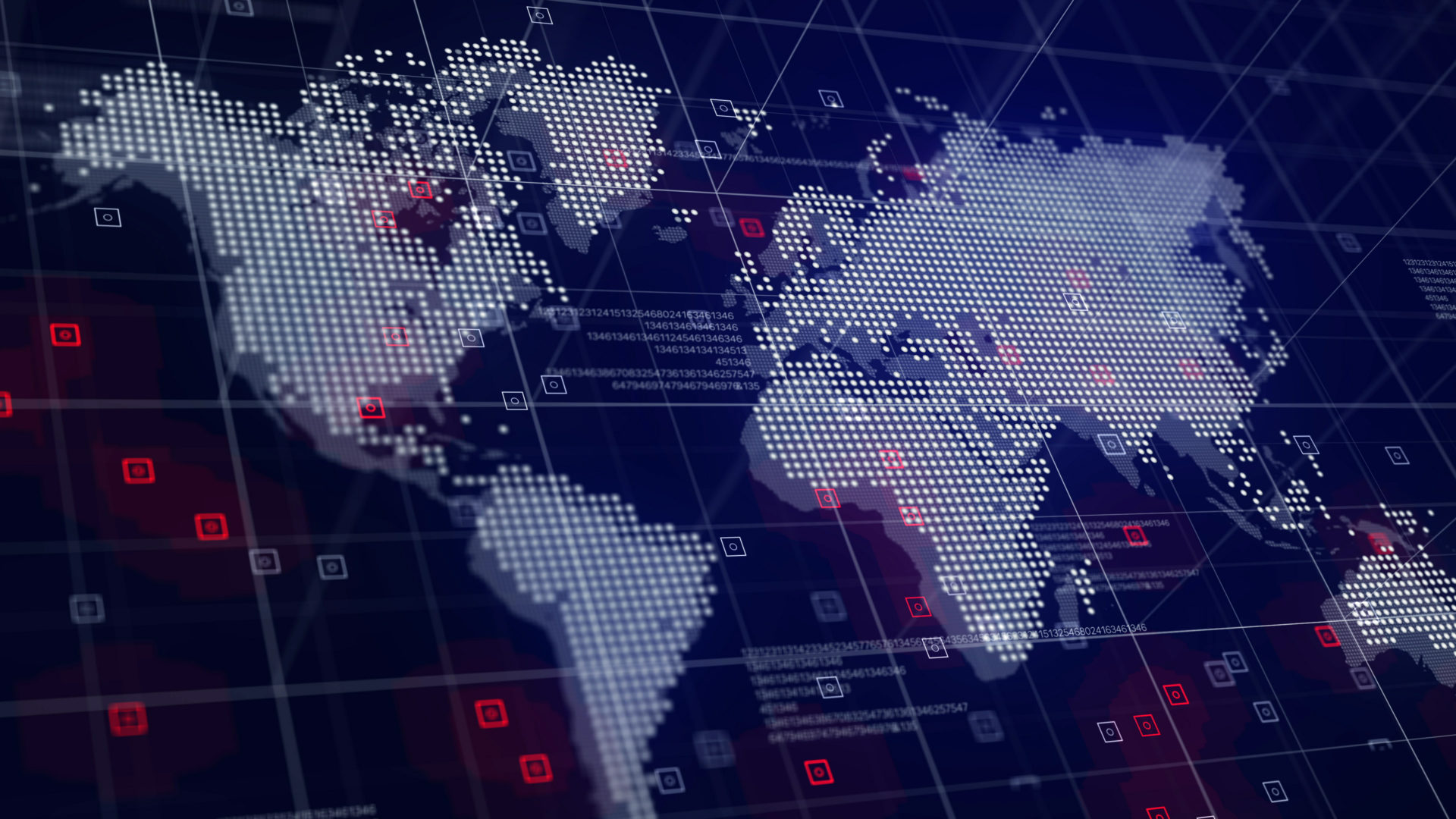 Hive electronic world map